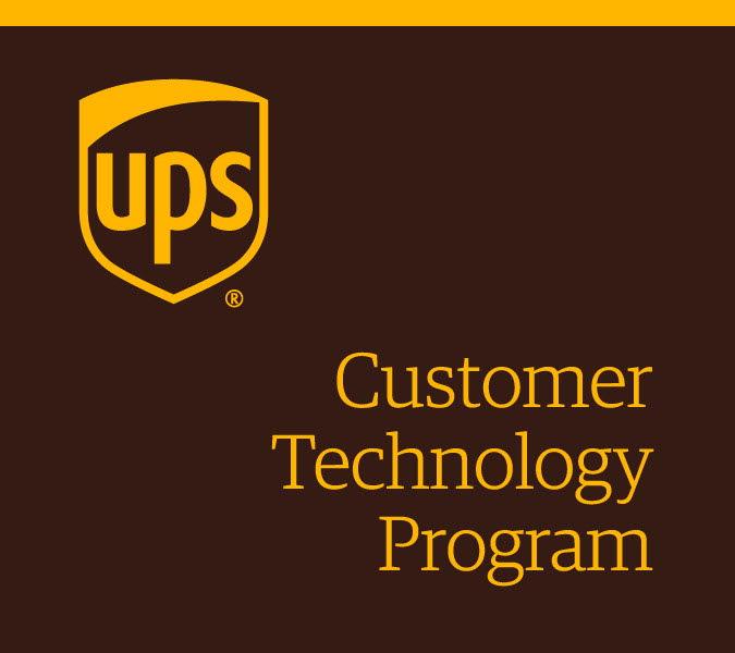 UPS Cusomter Techology Program
