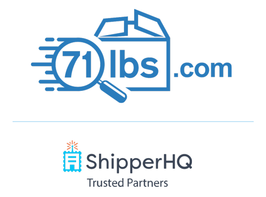 71lbs Trusted Partner of ShipperHQ