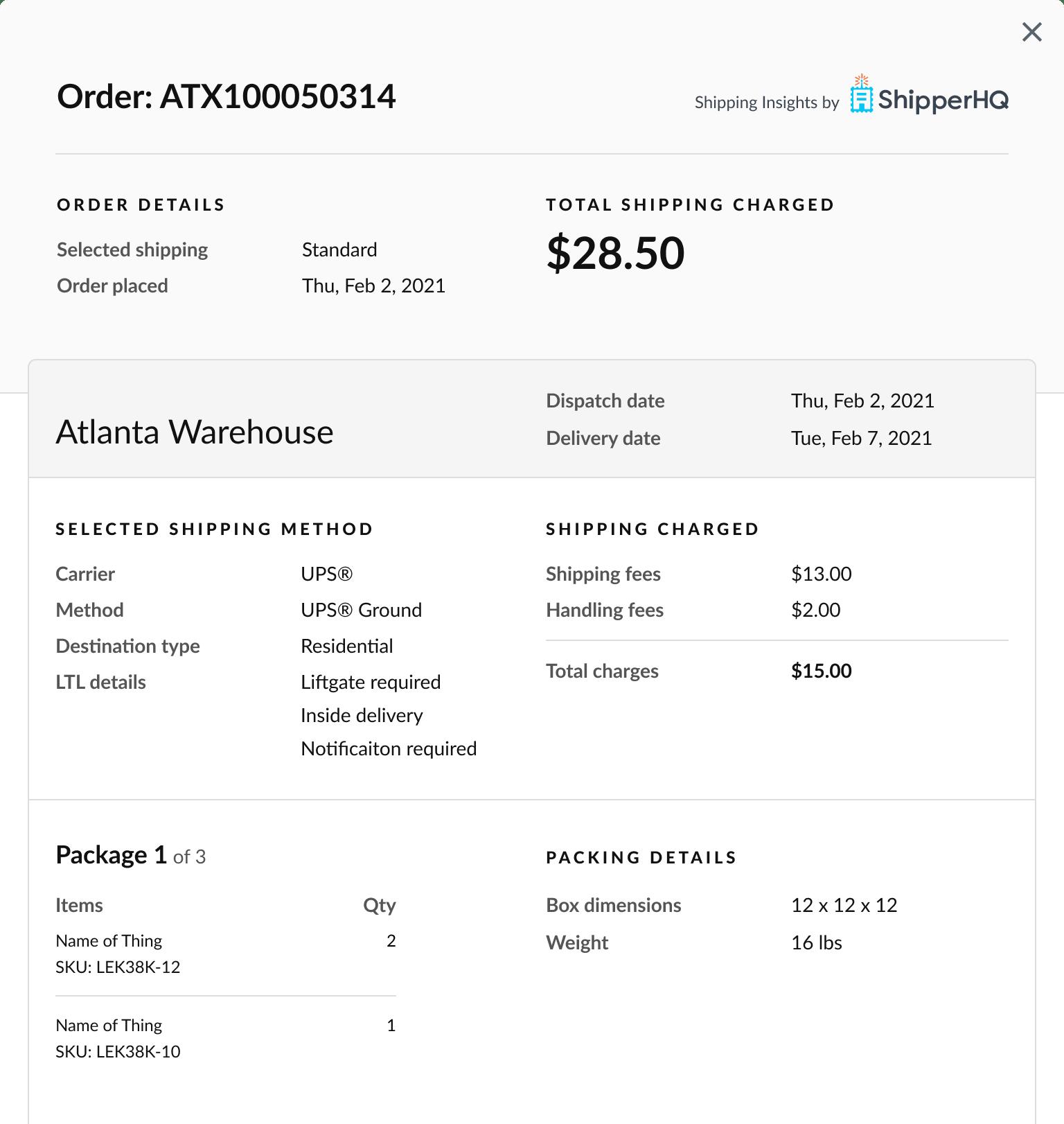 ShipperHQ Enhanced Checkout